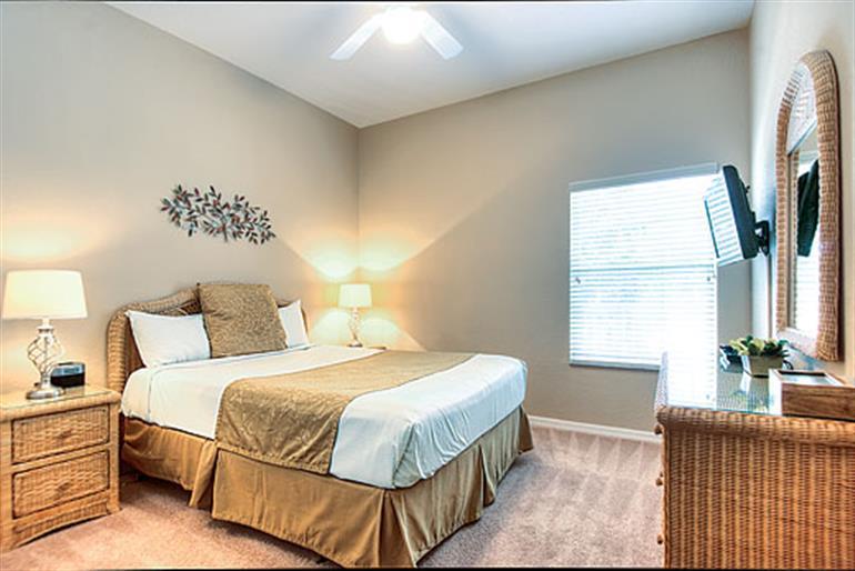 Bedroom in Abacos Apartments, Bahama Bay in Orlando - Florida