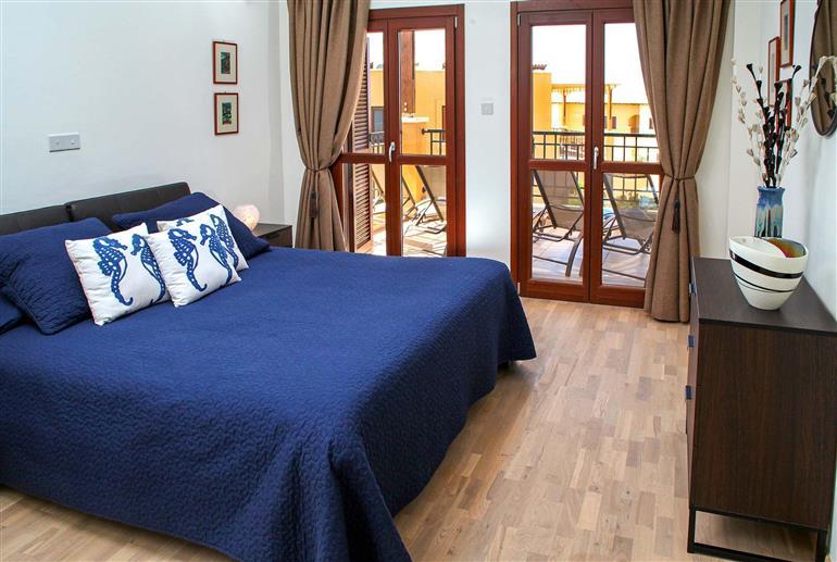 Bedroom in Apartment Alexander Heights Premium AR12, Aphrodite Hills