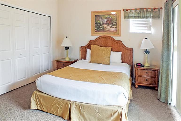 Bedroom in Apartment San Salvador, Bahama Bay in Orlando - Florida