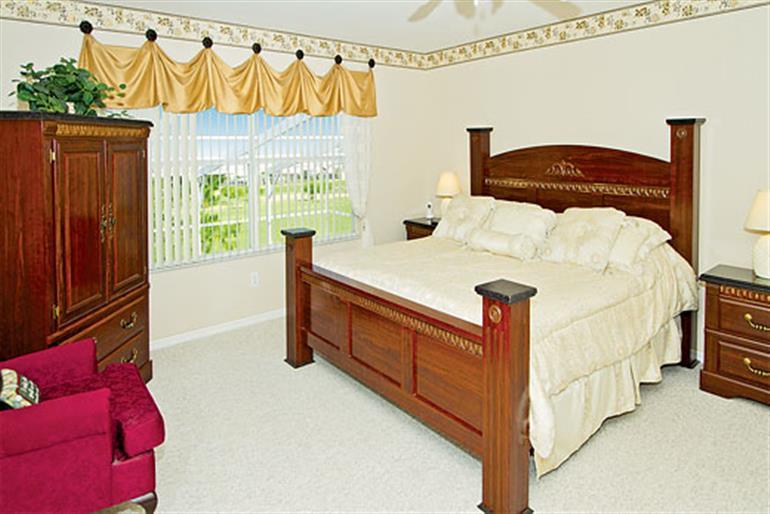 Bedroom in Gleneagles Executive Plus, Highlands Reserve Orlando - Florida