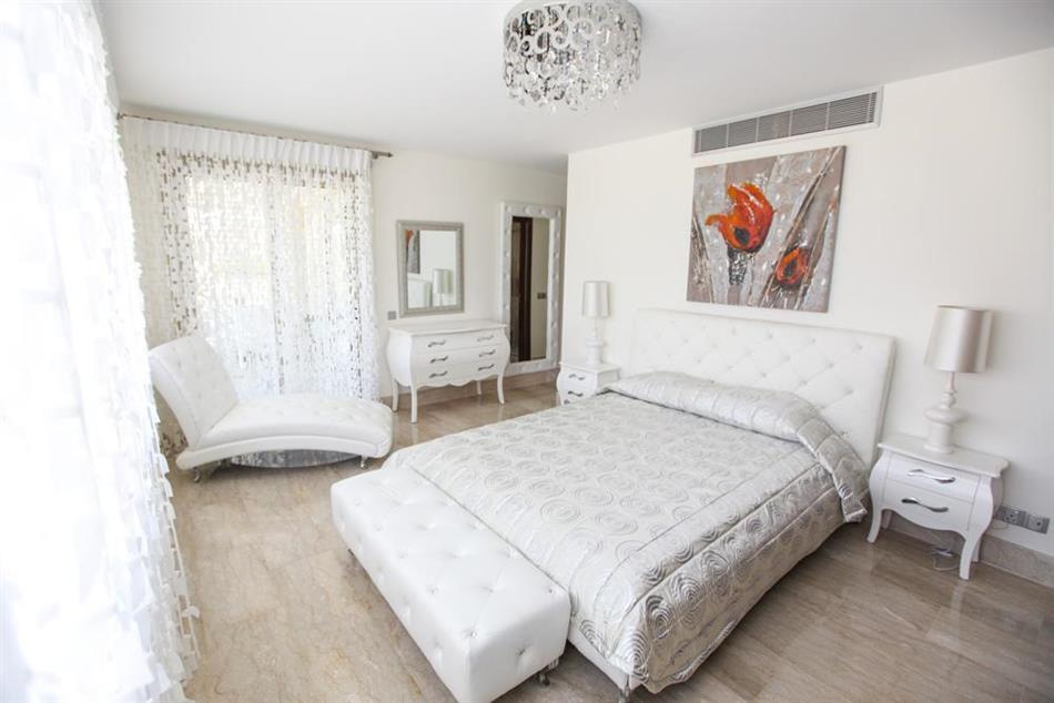 Bedroom in Harmonia Beach Villa, Cyprus