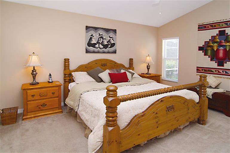 Bedroom in Shoreacres Executive, Highlands Reserve Orlando - Florida