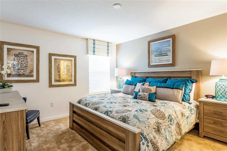 Bedroom in Villa Albatross, Disney Area and Kissimmee