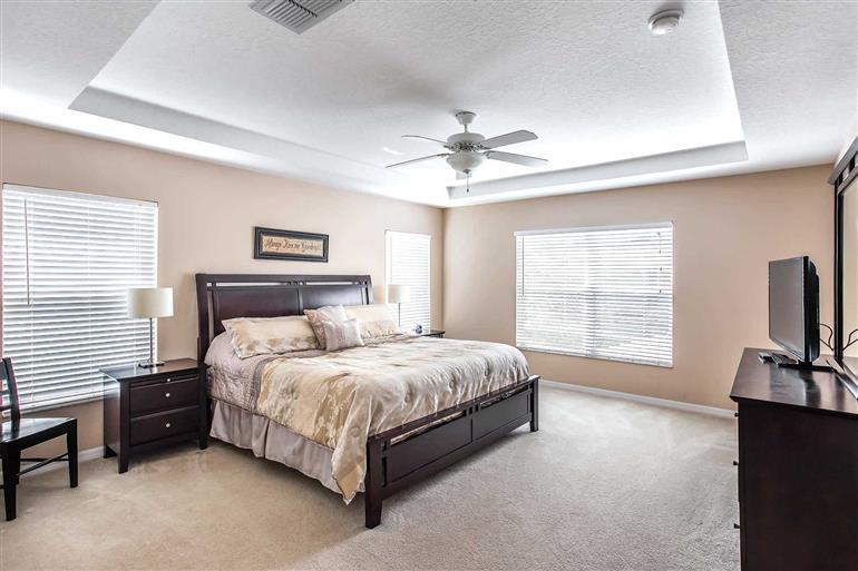 Bedroom in Villa Bonville, Highlands Reserve