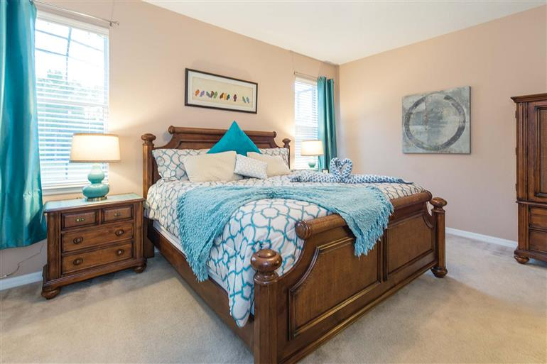 Bedroom in Villa Butterfly, Disney Area and Kissimmee, Orlando - Florida