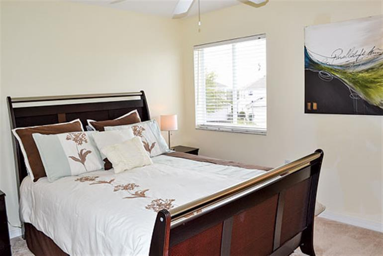 Bedroom in Villa Churchill Executive, Highlands Reserve Disney Area and Kissimmee