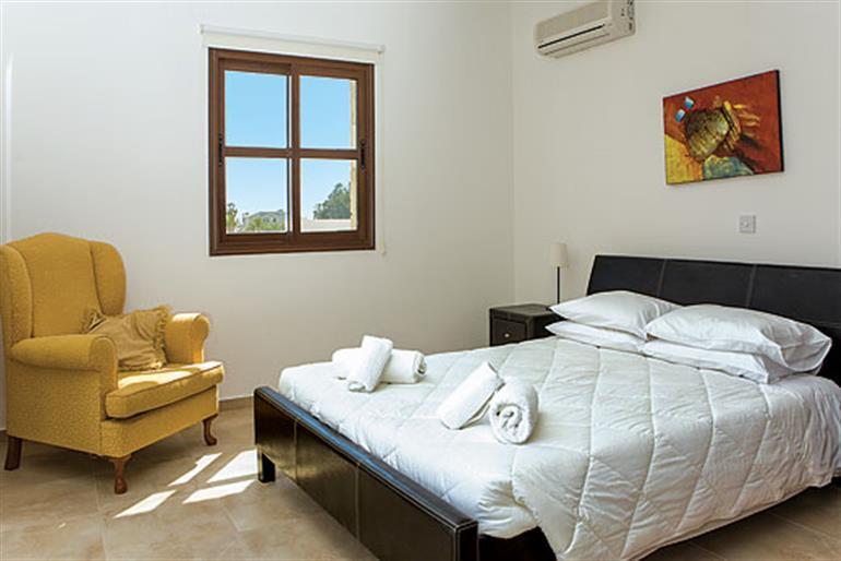 Bedroom in Villa Evanthia, Coral Bay