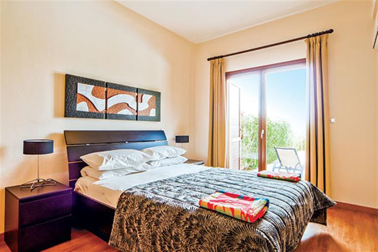 Bedroom in Villa Hestiades Green Junior 8, Aphrodite Hills on Cyprus