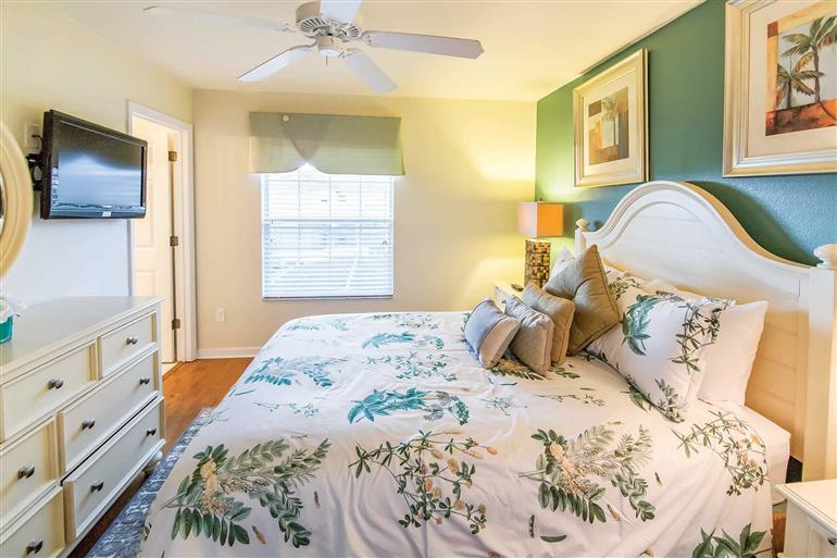 Bedroom in Villa Honeybell, Encantada, Orlando - Florida