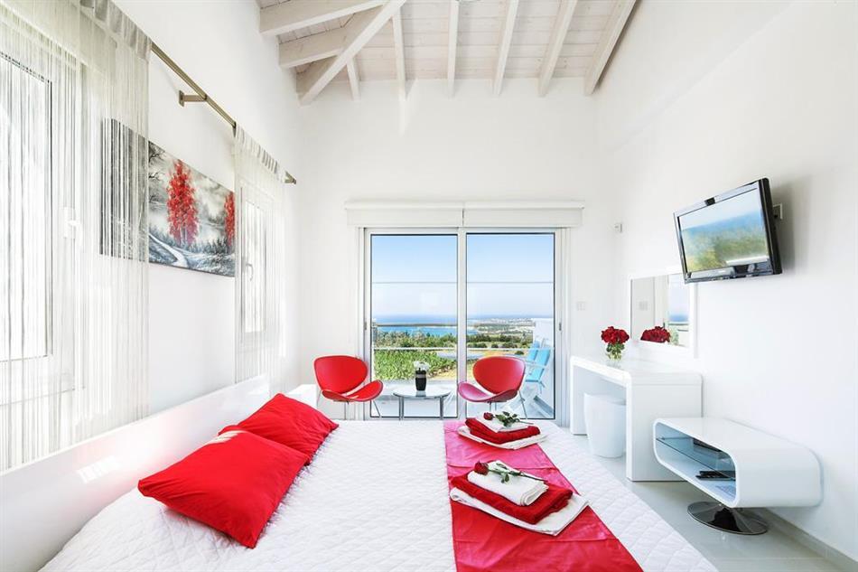 Bedroom in Villa Kissonerga, Cyprus