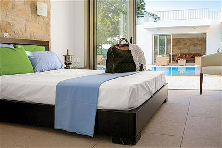 Bedroom in Villa Stephanos, Miliou, Cyprus