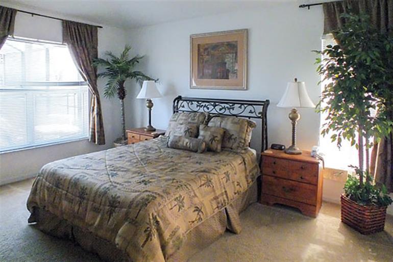 Bedroom in Villa Sunflower Executive, Orlando - Florida