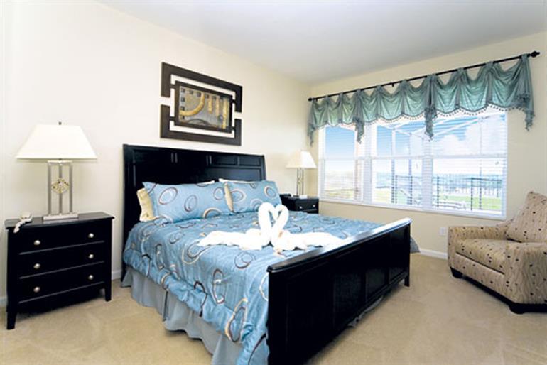 Bedroom in Villa Windsor Hills Executive Plus IV, Windsor Hills Resort Disney Area and Kissimmee