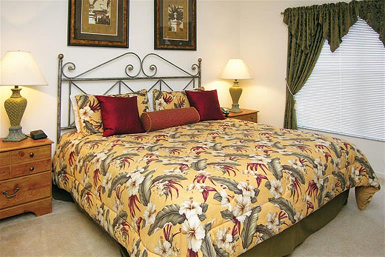 Bedroom in Villa Windsor Palms Executive IV, Windsor Palms Disney Area and Kissimmee