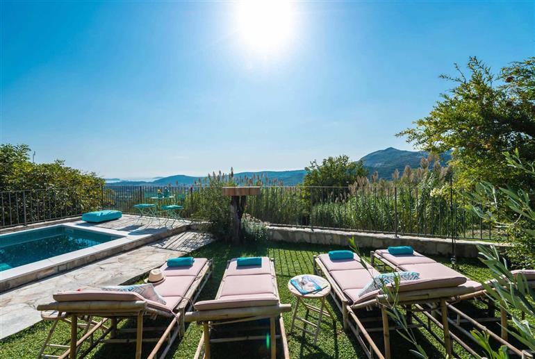 Garden at Villa Stargazer, Dubrovnik