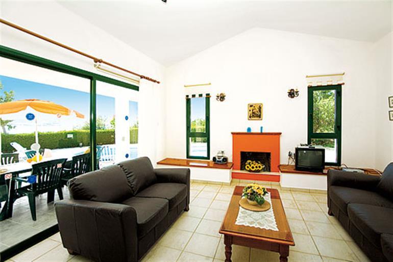 Living room in Amphitea, Coral Bay