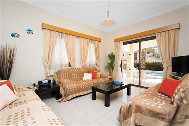 Living room in Anthea, Coral Bay