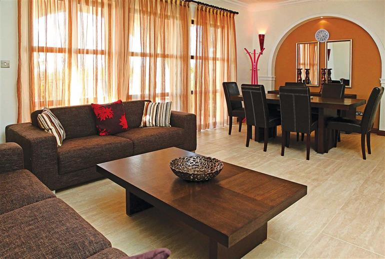 Living room in Apartment Apollo Heights AHH03, Aphrodite Hills