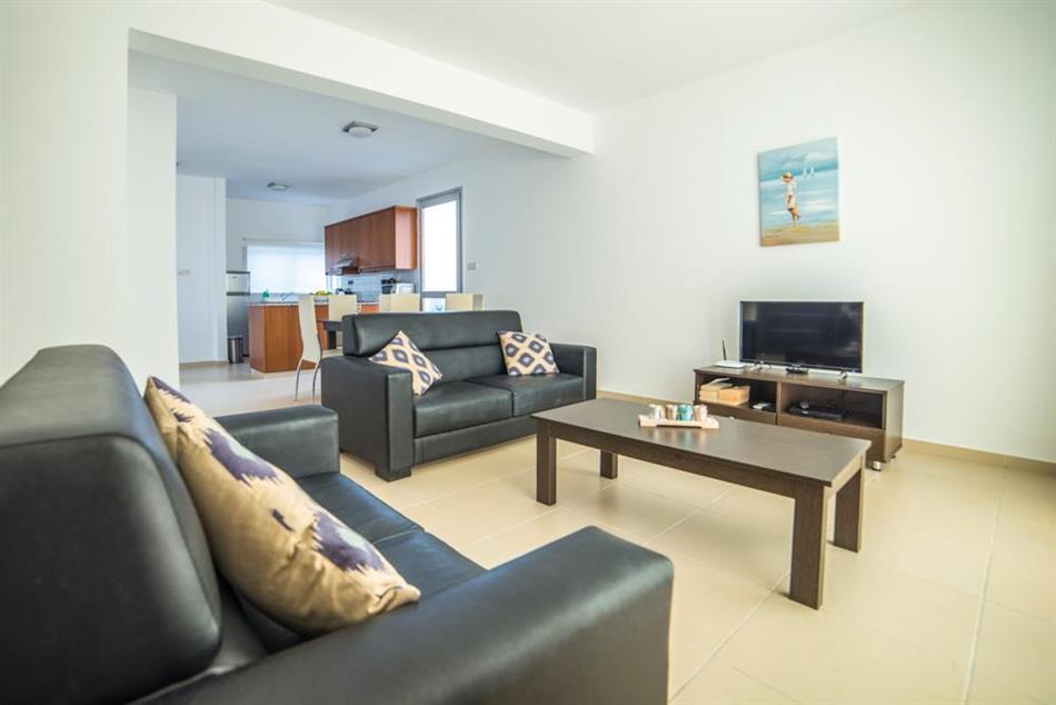 Living room in Coral Bay Villa 2, Cyprus