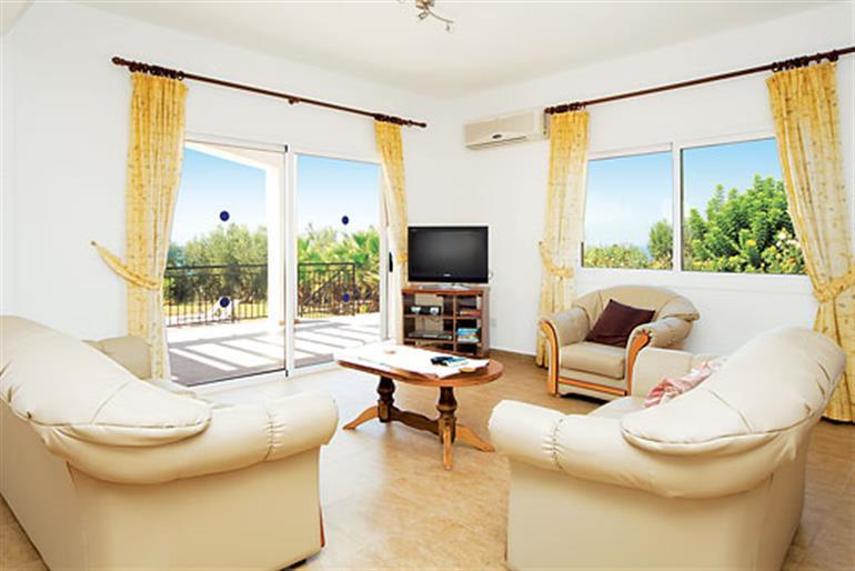 Living room in Gabriella, Coral Bay