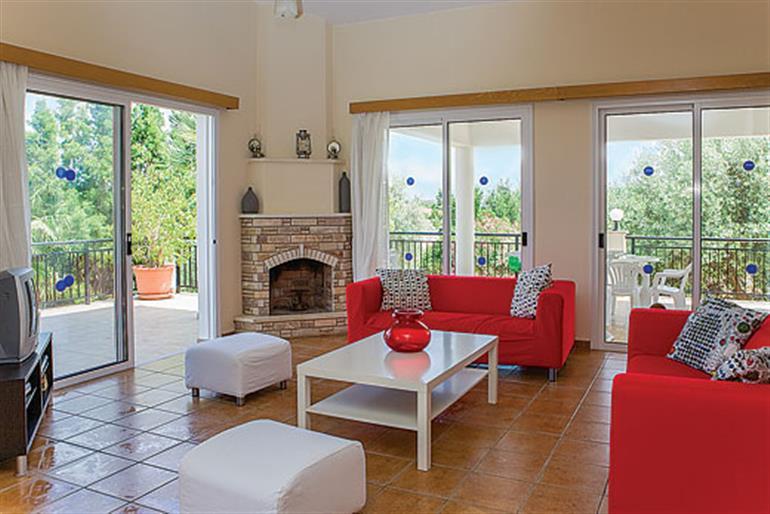 Living room in Katerina, Latchi