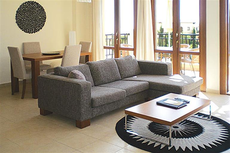 Living room in Theseus Village BB12, Aphrodite Hills