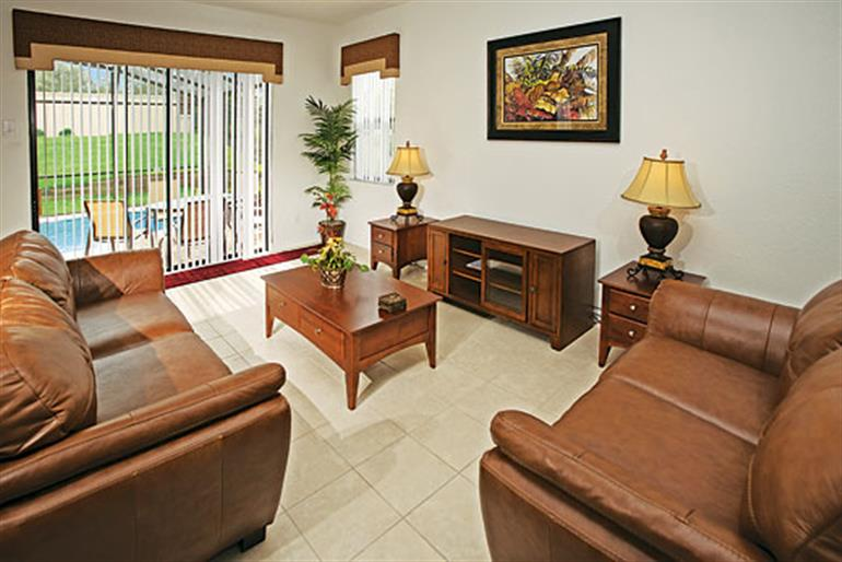 Living room in Tuscany Executive V5PP, Tuscany Orlando Orlando - Florida