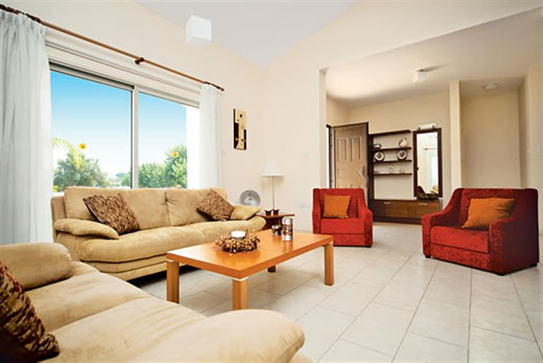 Living room in Venere, Latchi