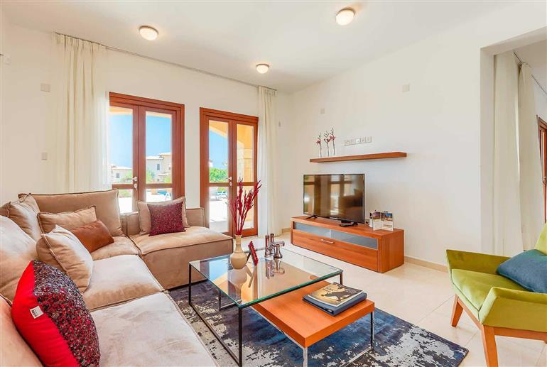 Living room in Villa Alexander Heights Elite AJ07, Aphrodite Hills
