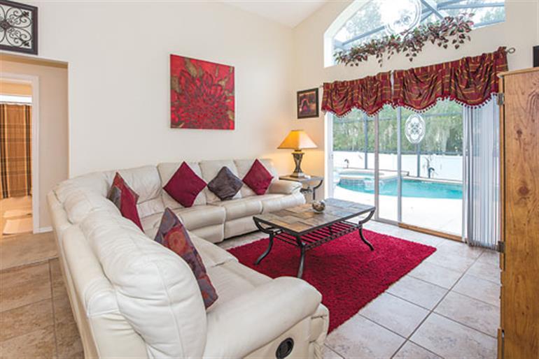 Living room in Villa Allamanda Executive, Orlando - Florida