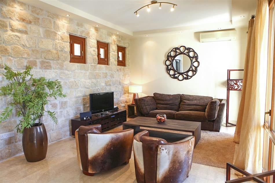 Living room in Villa Androulla, Cyprus