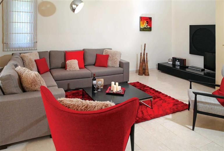 Living room in Villa Aphrodite Hills Superior 310, Aphrodite Hills