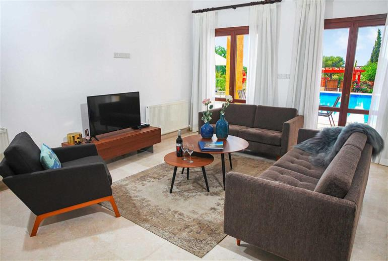 Living room in Villa Aphrodite Hills Superior 367, Aphrodite Hills