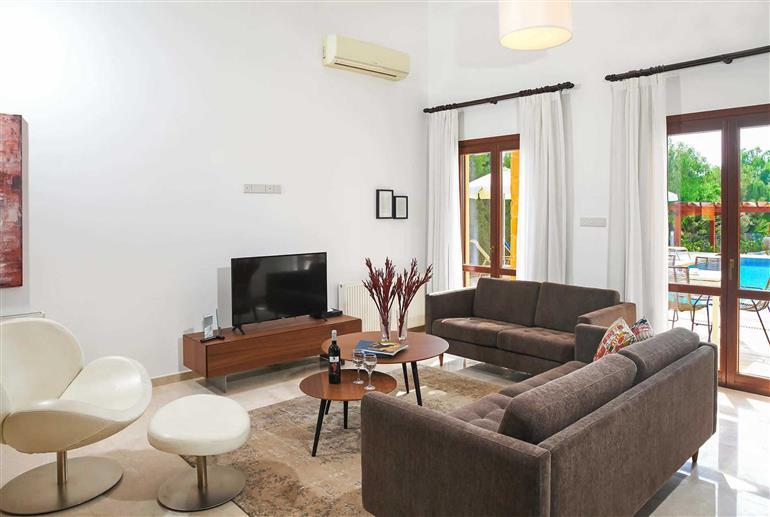 Living room in Villa Aphrodite Hills Superior 368, Aphrodite Hills