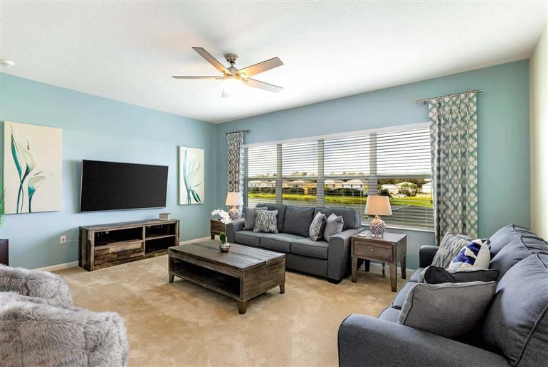 Living room in Villa Ballo Drive, Disney Area and Kissimmee