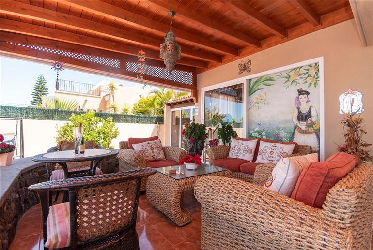 Living room in Villa Connie, Costa Adeje
