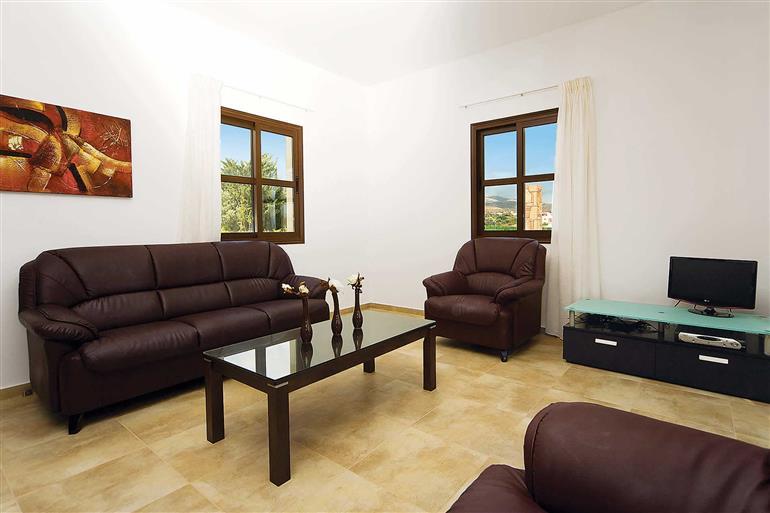 Living room in Villa Demitrios Vine, Coral Bay