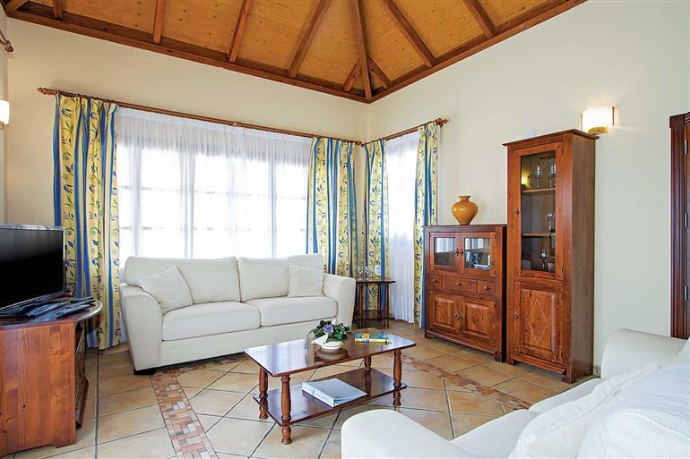 Living room in Villa Elena Mar, Corralejo, Fuerteventura