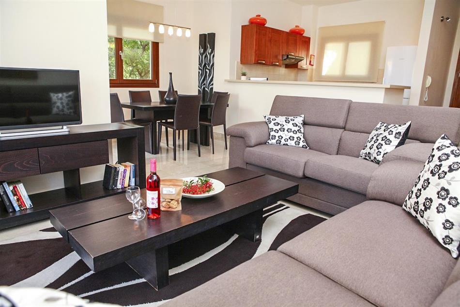Living room in Villa Eliana, Cyprus