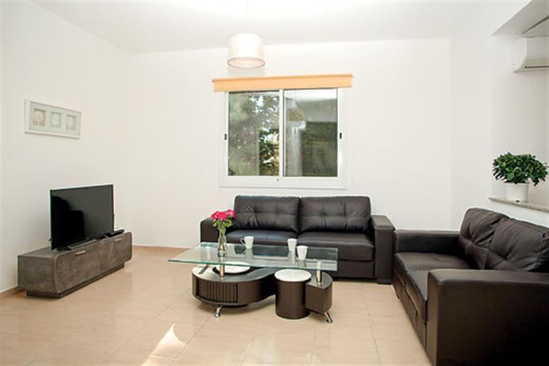 Living room in Villa Hibiscus, Coral Bay