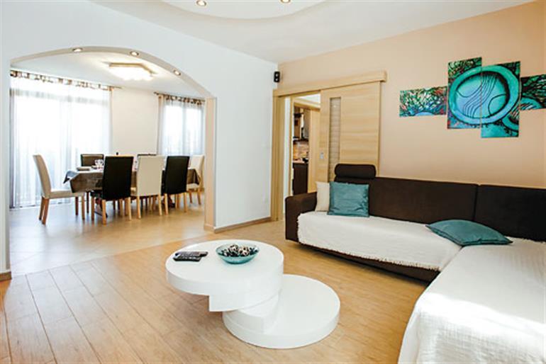 Living room in Villa Kamenica, Milna Brac