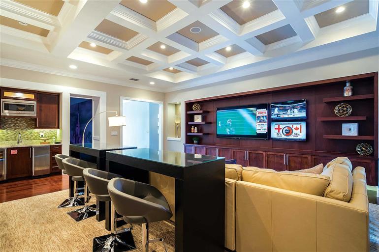 Living room in Villa Malitta Mansion, Reunion Resort