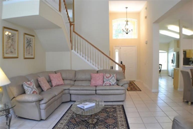 Living room in Villa Myrtle, Highlands Reserve