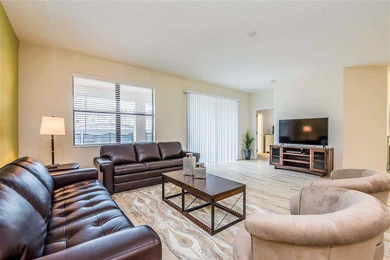 Living room in Villa Oak Tree, Champions Gate