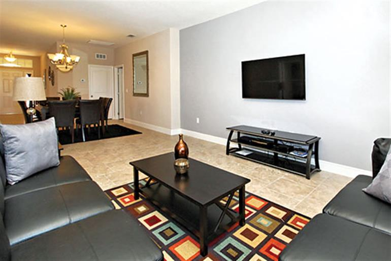 Living room in Villa Oakbourne Executive Plus, Solterra Resort Disney Area and Kissimmee