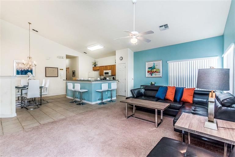 Living room in Villa Ridgewood, Westhaven