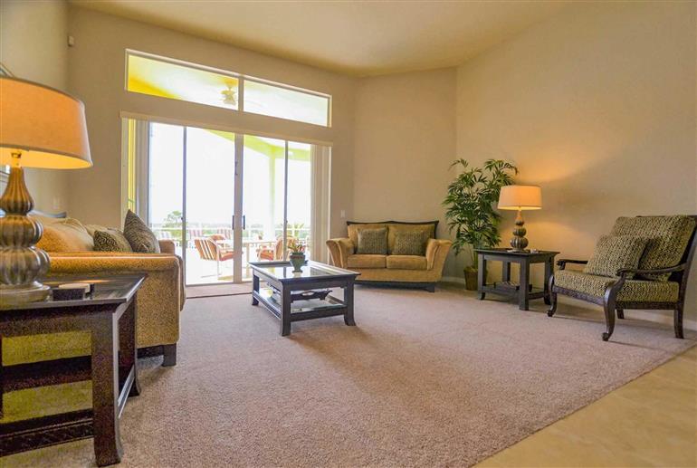 Living room in Villa Ruby Rose, Highlands Reserve