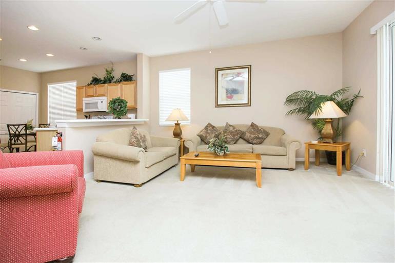 Living room in Villa Westhaven Executive V, Westhaven