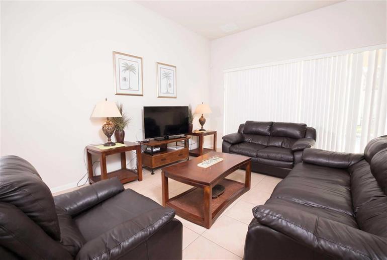 Living room in Villa Windsor Hills 6 Bed Ocean, Windsor Hills Resort