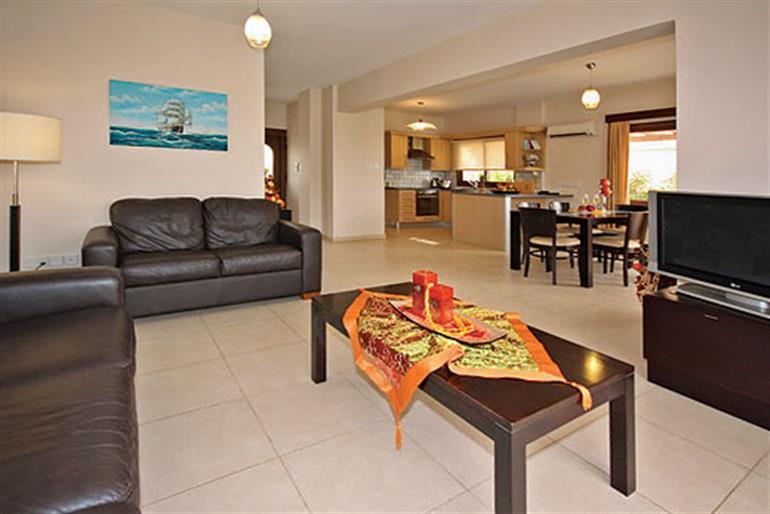 Living room in Vineland 15, Pissouri Bay